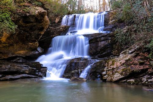 littlebradleyfalls northcarolina saluda greenrivergamelands waterfall waterfalls greatdestinations beautifuldestinations hike hiking
