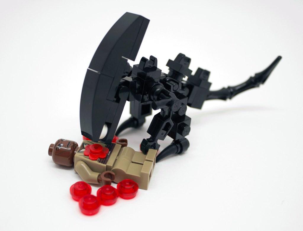 Custom Lego Alien Xenomorph Queen Minifigure | Available ...