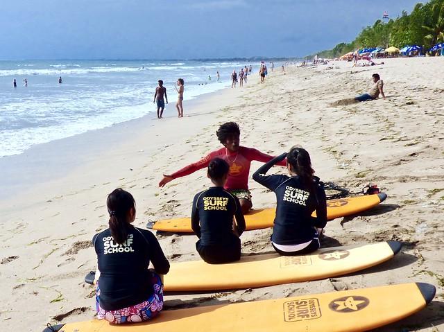 De surf school .