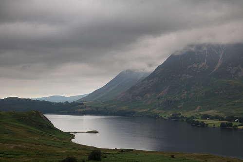 Crummock Water agin with the NW fells in cloud | by johnkaysleftleg