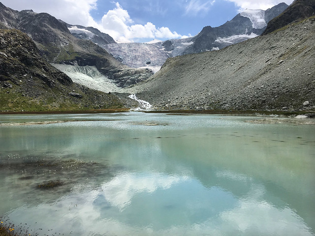 Moiry lake. Val d'Anniviers. Switzerland