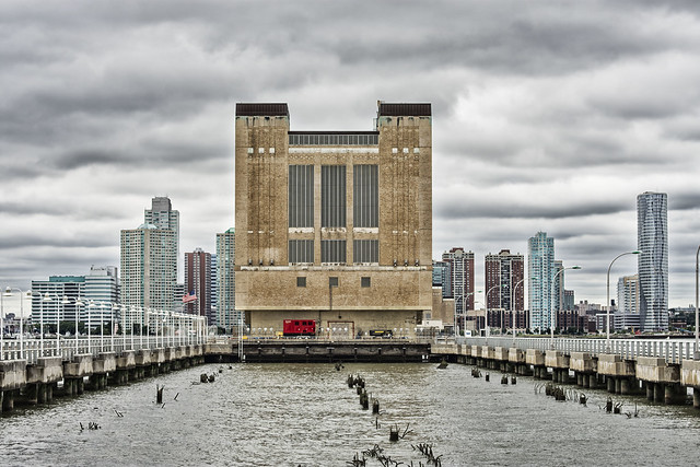 Ventilation Tower--Holland Tunnel