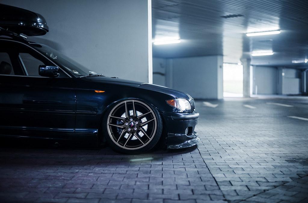 Bmw E46 Jr25 Front 19x8 5 Rear 19x9 5 Jr Wheels Flickr