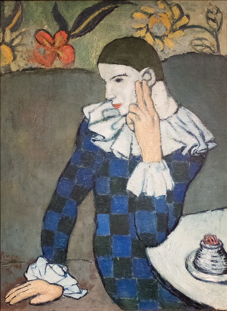 Seated Harlequin, 1901
