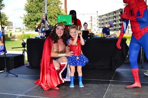 Traditional Super Girl: Wonder Woman, Laela Garner   by CASA of Travis County
