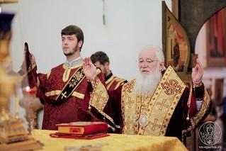 Литургия в Хутынском монастыре 110