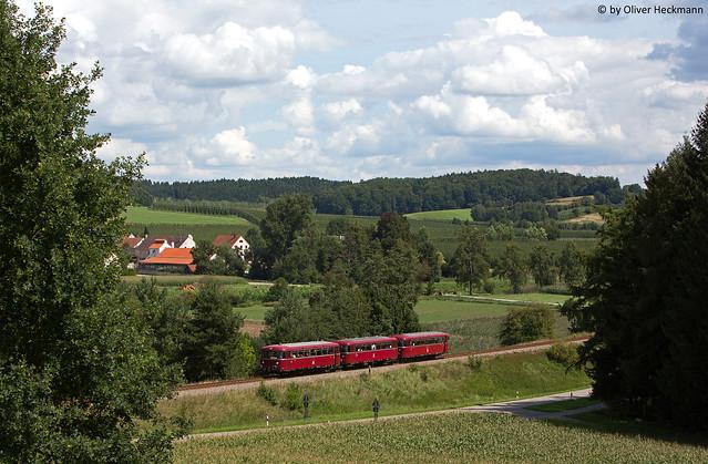 Schienenbus Burgstall