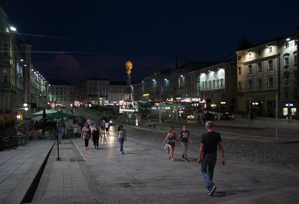 Sommerabend in Linz