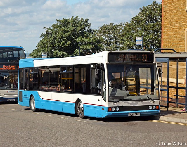 Lynxbus (Y251 DRC) Optare Excel offside ex Kirby Lonsdale ex Trent (Copy)
