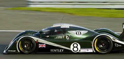 Bentley Exp Speed 8 – Le Mans 2001