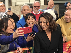 Michelle Yeoh & Cosplayers at the Star Trek Discovery Premiere - IMG_0029