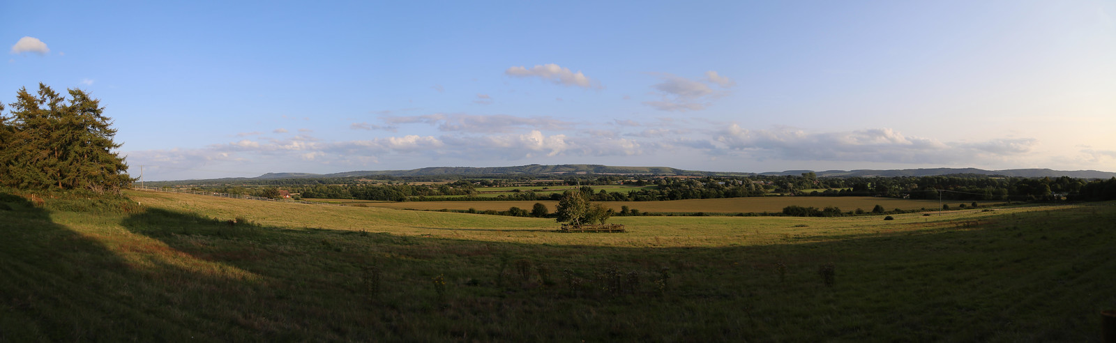 Looking to South Downs near Pulborough