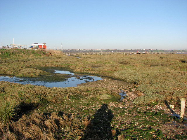 View towards Canvey Point, Canvey Island