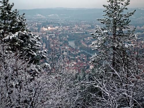 banjaluka republikasrpska bosniaandherzegovina bih snow forest europe bosnia