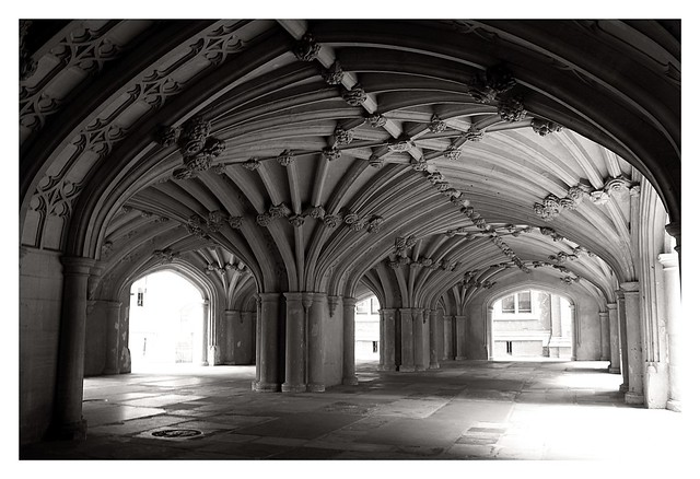 The Undercroft of Lincoln's Inn Chapel
