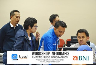 Workshop Amazing Slide Infographics PT Bank Negara Indonesia (Persero) Tbk | by dhonyfirmansyah