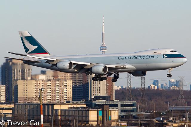 Cathay Pacific Cargo | B-LJB | Boeing 747-867F/SCD | YYZ | CYYZ