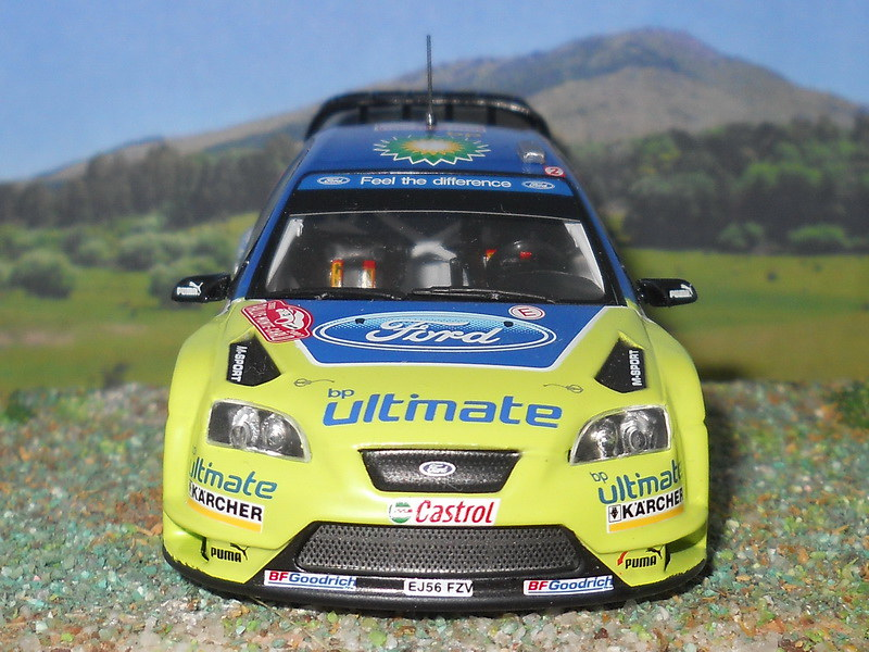 Ford Focus RS WRC – Montecarlo 2007