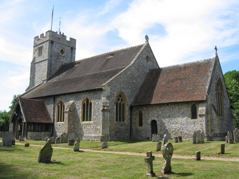 church of st nicholas in longparish