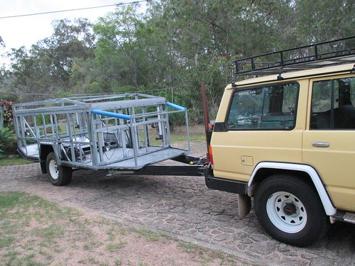 camper shell first tow 02   by jcclures