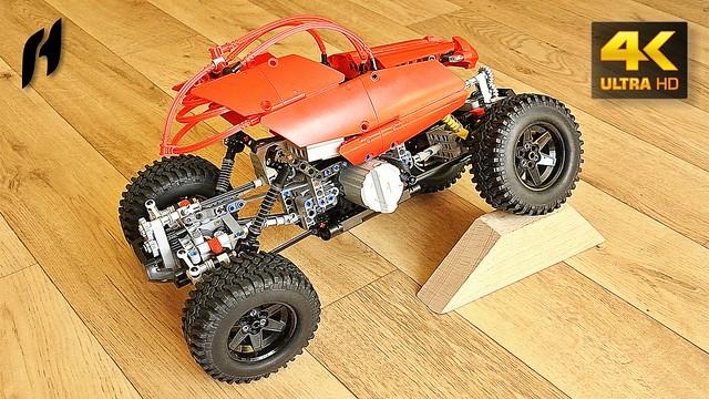 Lego Technic RC Crawler 4X4 - updated version (MOC - 4K)