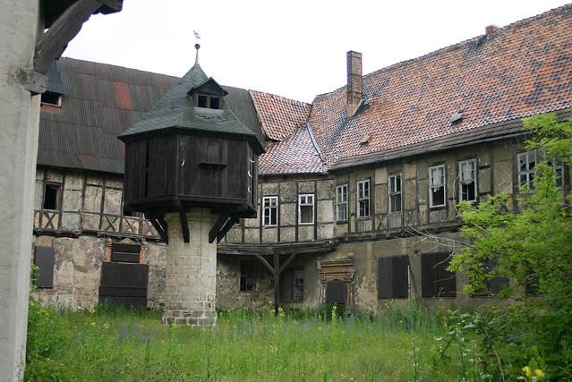 Fleischhof (auch Adelshof der Grafen von Falkenstein) mit Taubenturm