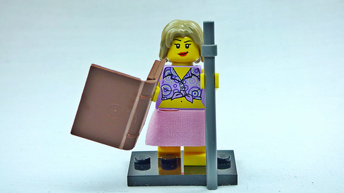 Brick Yourself Custom Lego Figure  Moonlighting Librarian | by BrickManDan
