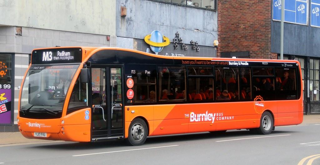 The Burnley Bus Company (Transdev Lancashire) 273 YJ17FVU