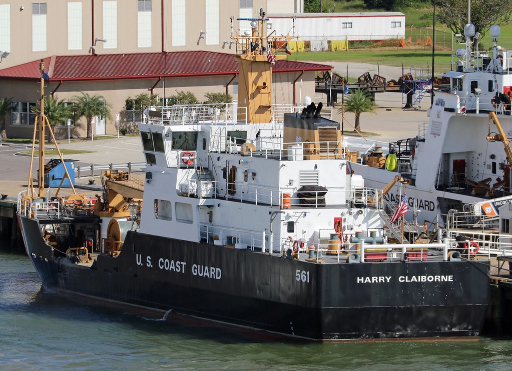 US Coast Guard ship 'Harry Claiborne'