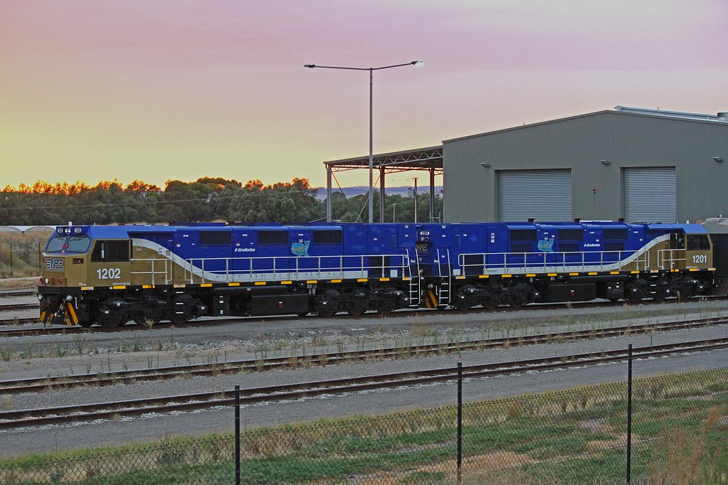 1202,1201 Gen Sets stabled at SCT Penfield 26-3-2017 by David Arnold