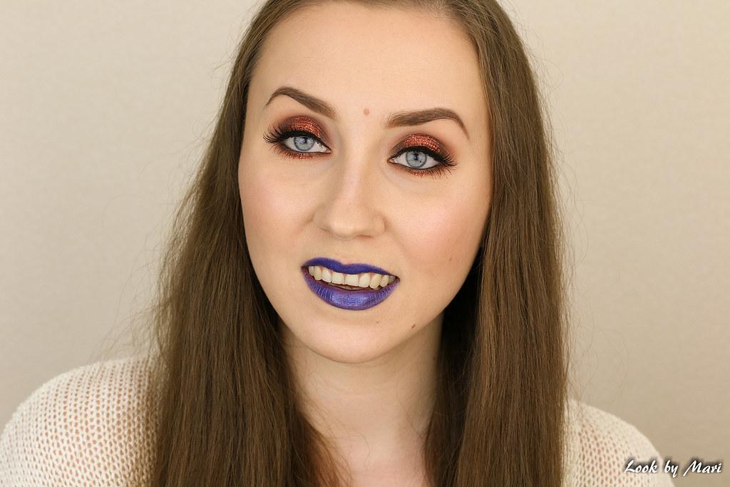 17 Burnt Orange Glitter Eye Makeup Tutorial Inspo Ideas Bl Flickr