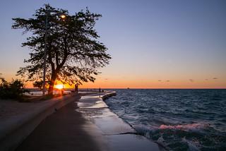 Lake Michigan Sunrise | by romanboed
