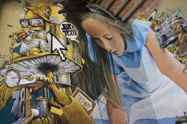 Graffiti a Penelles
