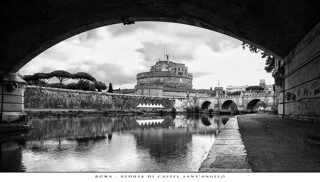 Roma - Veduta di Castel Sant'Angelo