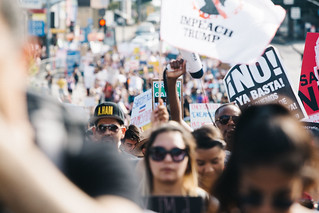 Los Angeles March for Immigrant Rights | by mollyktadams