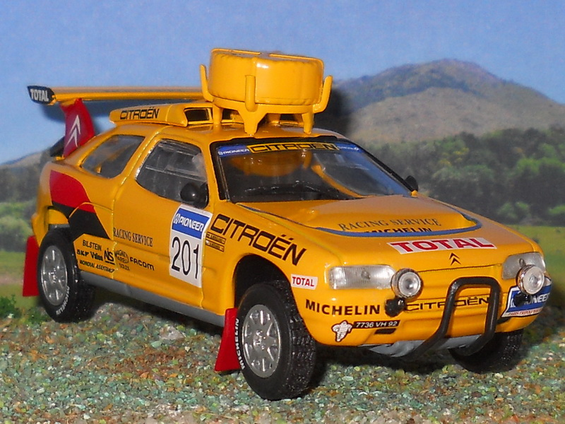 Citroën ZX Rally Raid – Dakar 1991