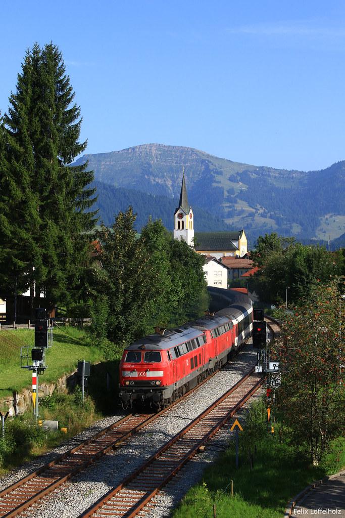 München Basel über Oberstaufen Die Eurocity Verbindung M
