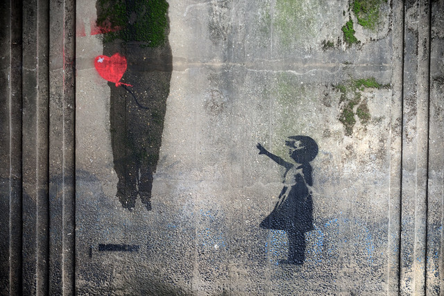 Banksy's Girl with Balloon