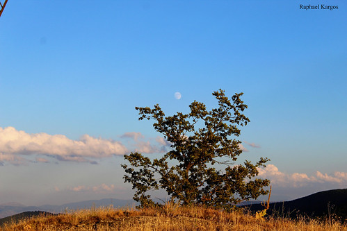 mountains tree sky bluesky clouds colors greece gr westernmacedonia view canon canonphotography efs eos 1300d moon macedoniagreece makedonia timeless macedonian macédoine mazedonien μακεδονια