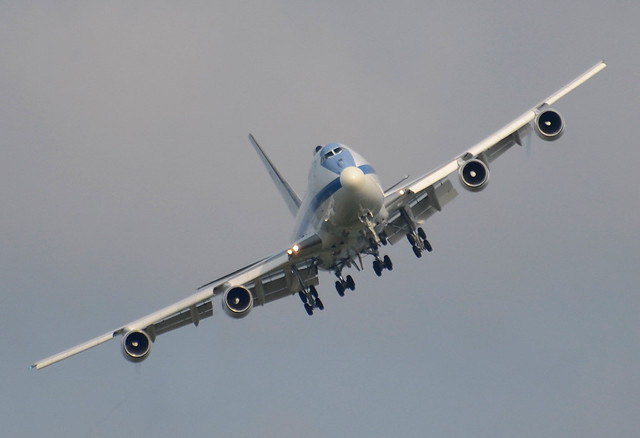 USAF Boeing E-4B (747-200) 74-0787 cn 20684/232 1st ACCS