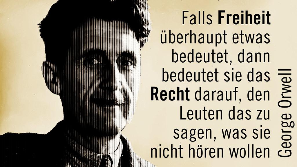 Georg Orwell Zitate