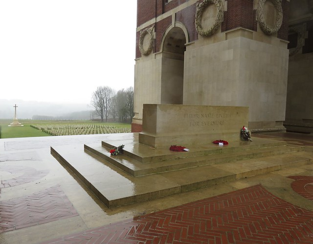 The Thiepval Memorial, The Somme, France. WW1.