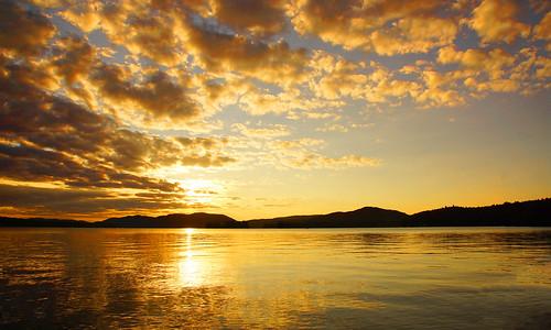 sunset sunsetbeach inletny inletnewyork centraladirondacks hamiltoncounty adirondacks landscape clouds tamron16300mm