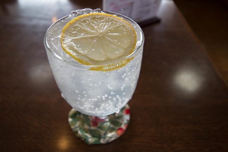 みくりが池温泉のレモンスカッシュ