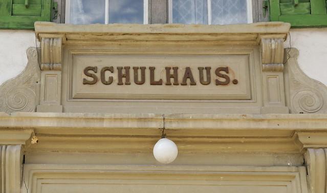 Schulhaus in Krauchthal 23.8.2017 2491
