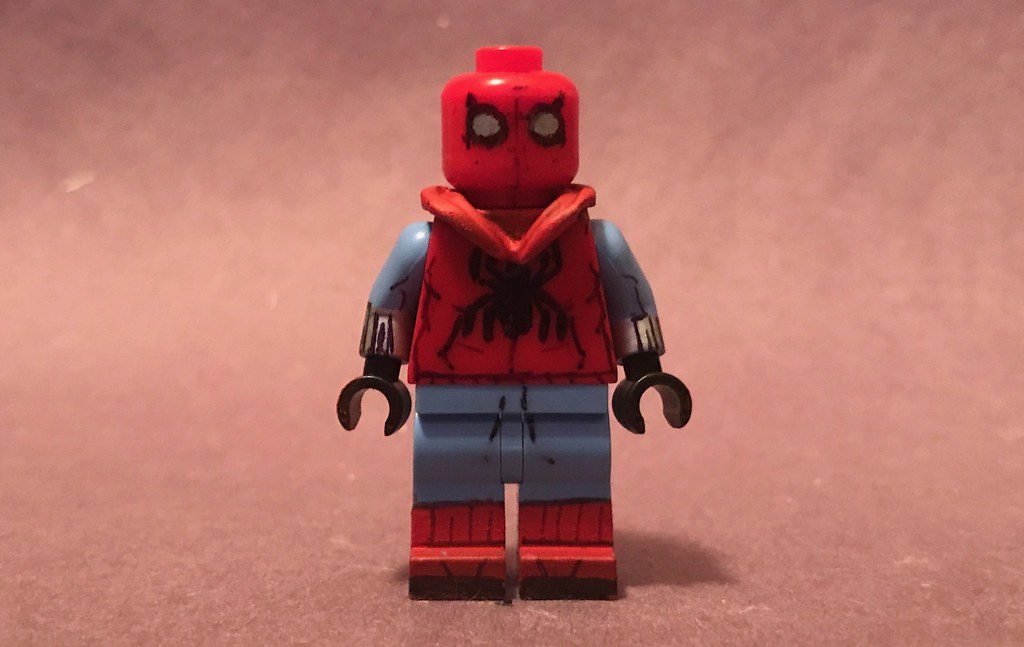 Lego Spider Man Homecoming Homemade Suit Heres Figure Nu Flickr