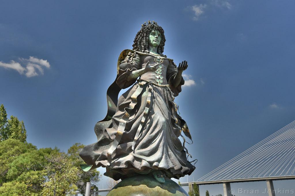 Queen Catherine of Braganza Statue   Audrey Flack. Parque da…   Flickr