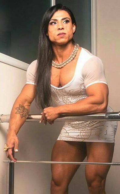 Girl hot muscle Best Mature