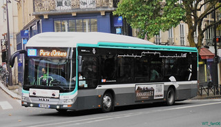 Bus 4111 Paris | by WT_fan06
