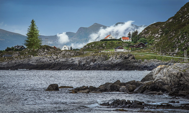 The island Runde - Norway